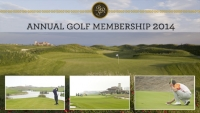 ANNUAL GOLF MEMBERSHIP FOR 2014 IS NOW AVAILABLE