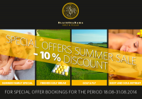Special offers summer sale