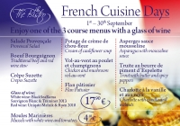 Flavours of France at the Clubhouse Bistro