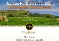 Travel Point 2 Scramble Tournament on June,5th