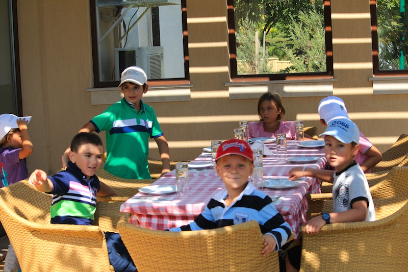 Challenging tournament for the end of the Kid's golf academy 2013 season @ BSR